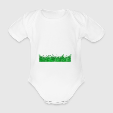 weed - Organic Short-sleeved Baby Bodysuit