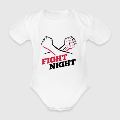 Fight Night Boxing Kickboxen - Organic Short-sleeved Baby Bodysuit