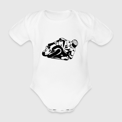 Haezo Racing Team - Organic Short-sleeved Baby Bodysuit
