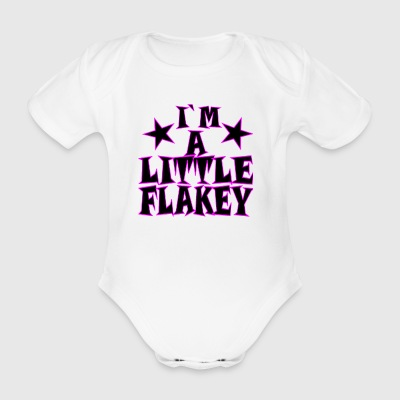 I stand by my psoriasis - Organic Short-sleeved Baby Bodysuit