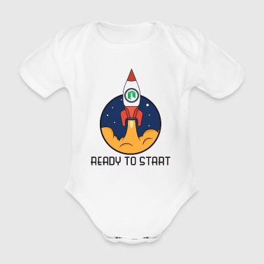 ready to start neo - Baby Bio-Kurzarm-Body