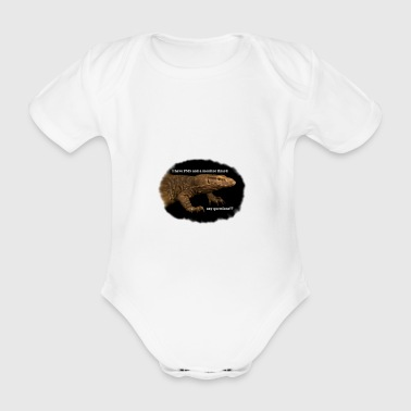 Monitor lizard - Organic Short-sleeved Baby Bodysuit