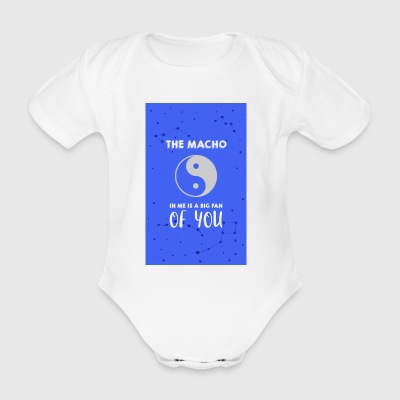 Der Macho in mir - Baby Bio-Kurzarm-Body