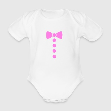 Funny baby boy and girl suit - Organic Short-sleeved Baby Bodysuit