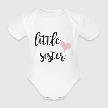 Little sister - Organic Short-sleeved Baby Bodysuit