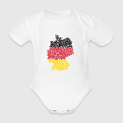 Germany - Organic Short-sleeved Baby Bodysuit