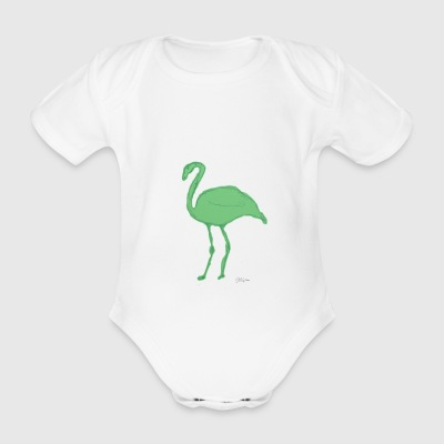 Flemish - Organic Short-sleeved Baby Bodysuit