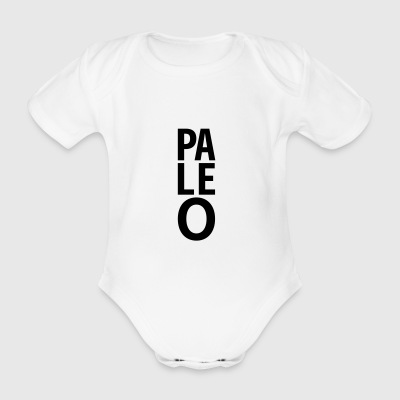 Paleo - Organic Short-sleeved Baby Bodysuit