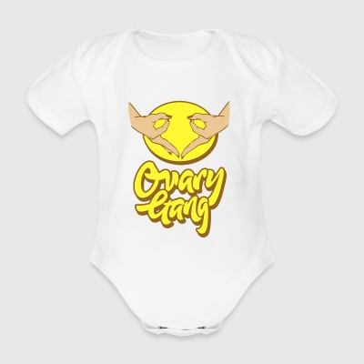 Ovary Gang - I Believe In Women'S Rights Feminism - Organic Short-sleeved Baby Bodysuit