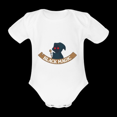 Magician - Sorcery - Magic - Magic Hat - Spellcasting - Organic Short-sleeved Baby Bodysuit