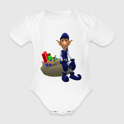 imp - Organic Short-sleeved Baby Bodysuit