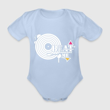 Record with pickup - Organic Short-sleeved Baby Bodysuit