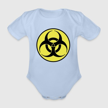 biohazard 2 color IT - Body ecologico per neonato a manica corta