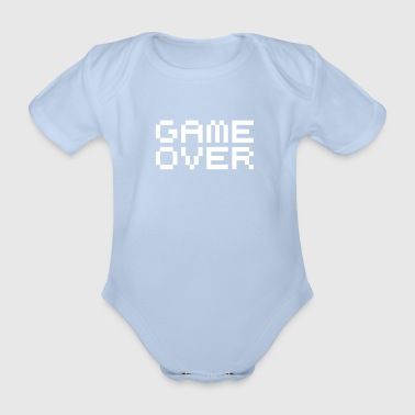 Game over / game over pixels - Baby Bio-Kurzarm-Body