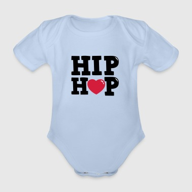 hiphop - Organic Short-sleeved Baby Bodysuit