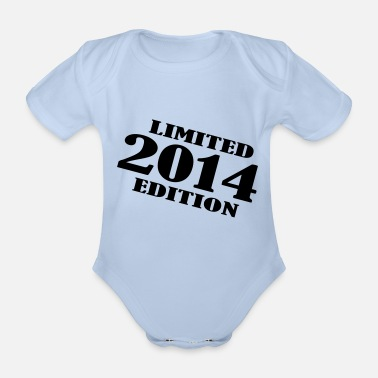 2014 year 2014 limited edition - Organic Short-Sleeved Baby Bodysuit