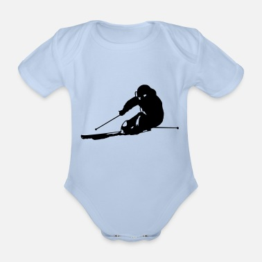 Carve Carving - Organic Short-Sleeved Baby Bodysuit