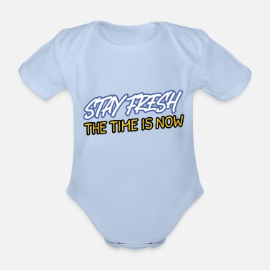 Stay Fresh Stay Fresh - Organic Short-Sleeved Baby Bodysuit