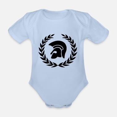 Sharp The Sharp clothes - Organic Short-sleeved Baby Bodysuit