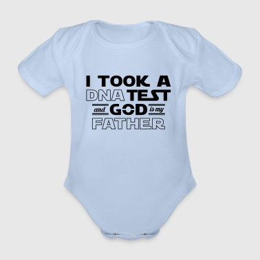 God Father - Organic Short-sleeved Baby Bodysuit