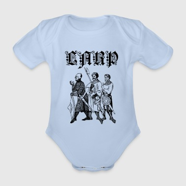 LARP - Organic Short-sleeved Baby Bodysuit
