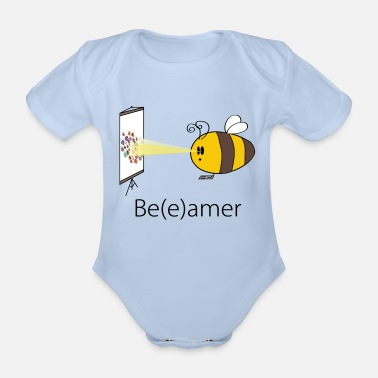 Be(e)amer - Organic Short-sleeved Baby Bodysuit