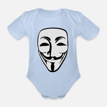 Anonymous Anonymous - Organic Short-Sleeved Baby Bodysuit