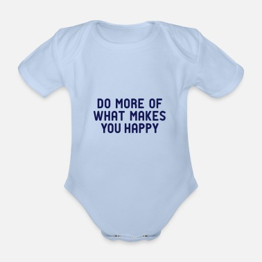 Do you like happy hygge? - Organic Short-Sleeved Baby Bodysuit
