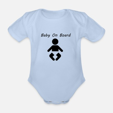 Baby On Board Baby On Board - Vauvan lyhythihainen body