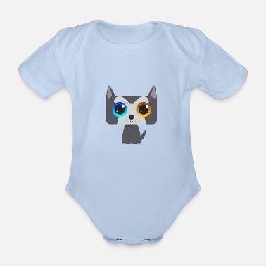 06961d960be822 Modern-pentathlon husky modern - Organic Short-Sleeved Baby Bodysuit