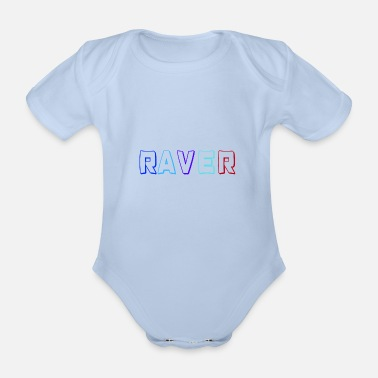 Clothing Raver - Organic Short-Sleeved Baby Bodysuit