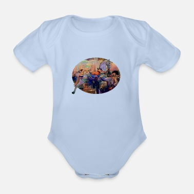 Fun Fair At the fair - Organic Short-sleeved Baby Bodysuit