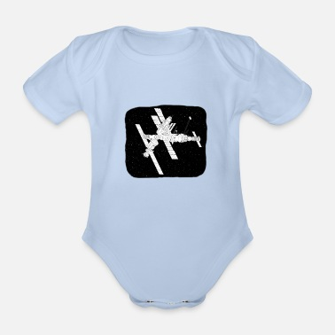 ISS - Organic Short-Sleeved Baby Bodysuit