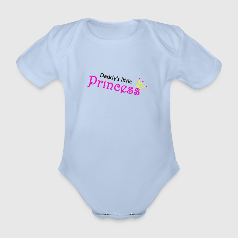 Daddy's little Princess - Baby Bio-Kurzarm-Body