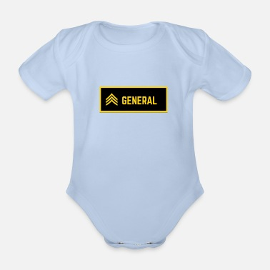 Generation general - Organic Short-Sleeved Baby Bodysuit