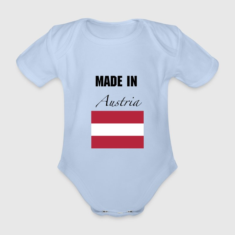 Made In Austria - Baby Bio-Kurzarm-Body
