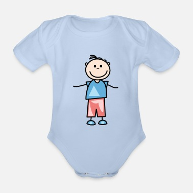 Lisa Malik - Organic Short-sleeved Baby Bodysuit
