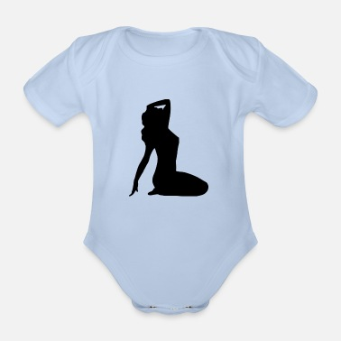 Pin-up Pin up - Organic Short-Sleeved Baby Bodysuit