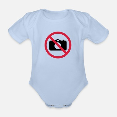Picture no picture - Organic Short-Sleeved Baby Bodysuit