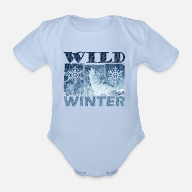 Bestsellers Q4 2018 winter - Organic Short-Sleeved Baby Bodysuit