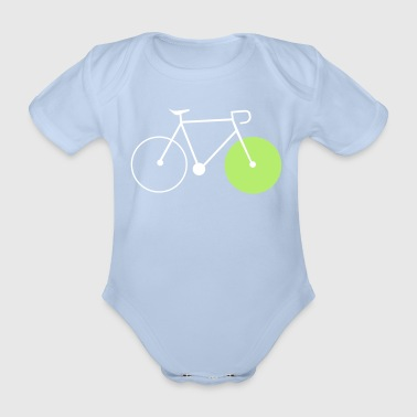 bike fixie fahrrad cycling sommer radsport rad - Baby Bio-Kurzarm-Body