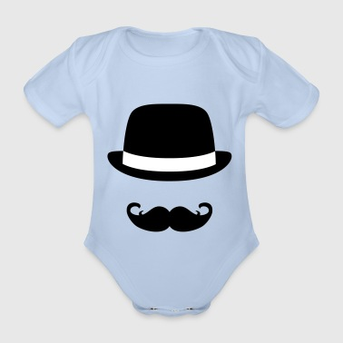 Sir - Organic Short-sleeved Baby Bodysuit
