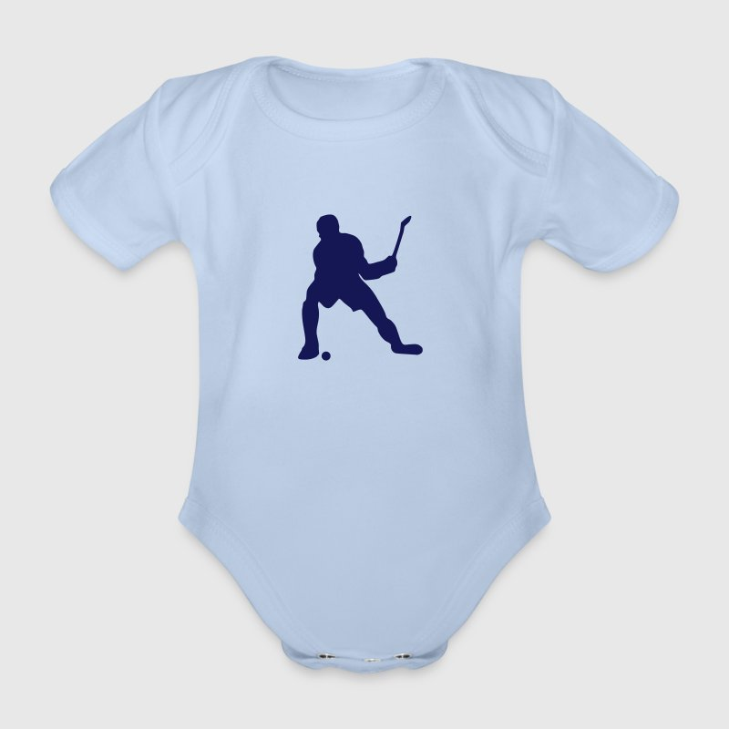 hockey - Baby Bio-Kurzarm-Body