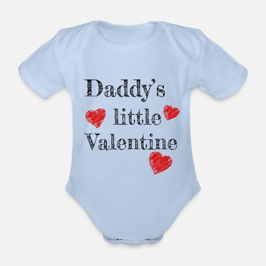 Valentine's Day Daddy's Little Valentine - Vauvan lyhythihainen body