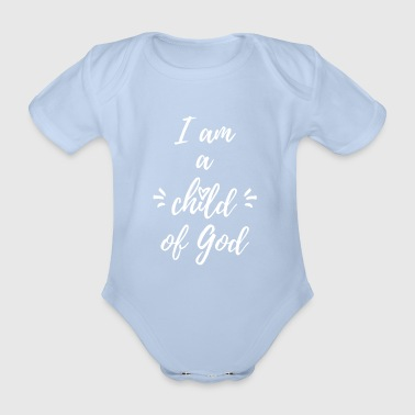 child of god - Baby Bio-Kurzarm-Body