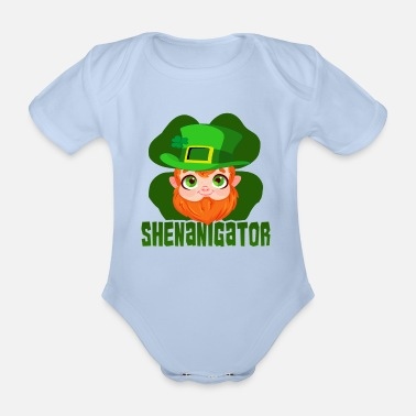 Irlanda Festa della St Patricks Day Shirt Shamrock Beer Gift - Body neonato  a manica corta 584b676cd33