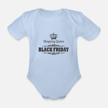 Rebaja BLACK FRIDAY, Shopping Queen, Regalo, Rebajas - Body orgánico de maga corta para bebé
