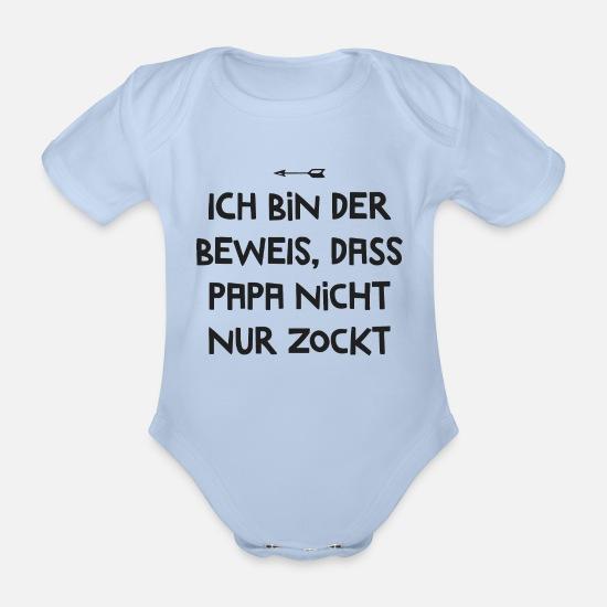 clothinx Mama Und Ich Sind Uns Einig Papa Ist Der Beste Baby-Body Bio