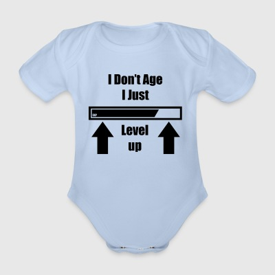 Dont age - Organic Short-sleeved Baby Bodysuit
