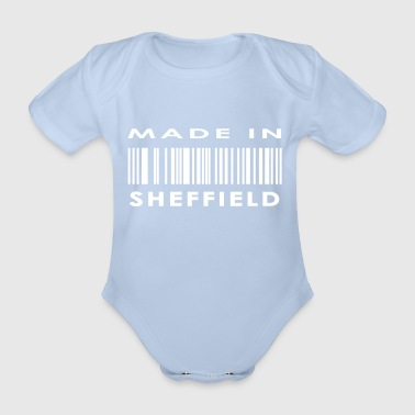 Made in Sheffield - Organic Short-sleeved Baby Bodysuit